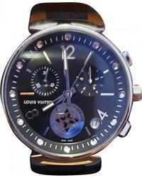Louis Vuitton Tambour Uhren - Blau