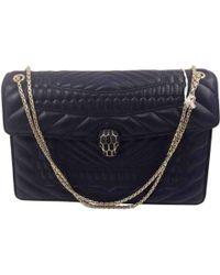 BVLGARI - Pre-owned Serpenti Leather Handbag - Lyst