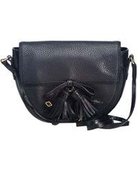 6b9e36c8c192 Burberry - Pre-owned Black Leather Handbags - Lyst