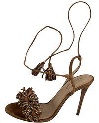 Aquazzura Wild Thing Sandal - Brown