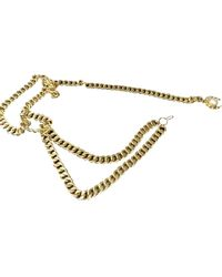 Chanel Vintage Gold Chain Belts - Metallic