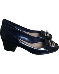 Michael Kors Patent Leather Heels - Blue