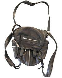 Alexander Wang Marti Leather Backpack - Black