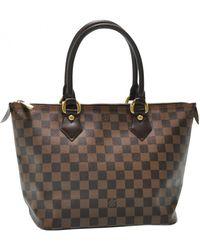 Louis Vuitton Saleya Cloth Handbag - Brown