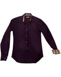 Burberry Camisas - Morado