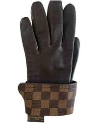 Louis Vuitton Leather Gloves - Multicolor