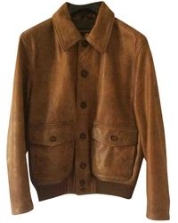 Belstaff Leather Jacket - Natural