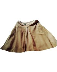 Loewe Mid-length Skirt - Natural