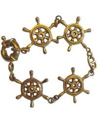 Celine Gold Gold Plated Bracelet - Metallic