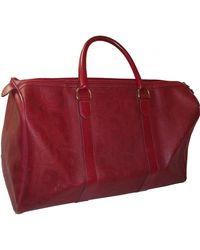 Dior Cloth 48h Bag - Red
