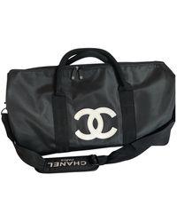 Chanel Cloth 24h Bag - Black