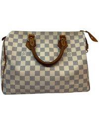 Louis Vuitton Speedy Leinen Handtaschen - Mehrfarbig