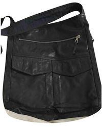Dries Van Noten Leather Handbag - Black