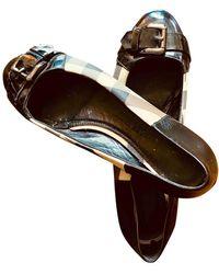 Burberry Leather Ballet Flats - Multicolour