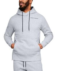Under Armour Pursuit Microthread Pullover Hoodie - Gray