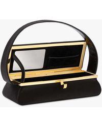 Victoria Beckham Powder Box Handbag - Black