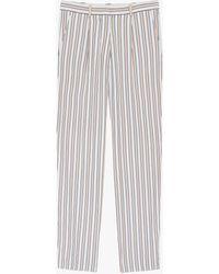 Victoria Beckham Fluid Striped Pyjama Trousers - Multicolour