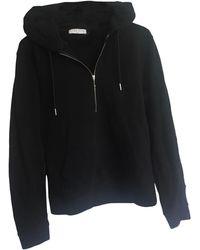 Sandro Sweat coton noir