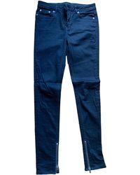 BLK DNM Jeans slim denim, jean noir