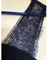 The Kooples Robe courte polyester bleu