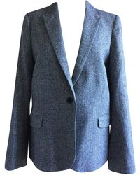 Zadig & Voltaire Blazer, veste tailleur acrylique gris