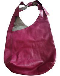 Gerard Darel - Sac à main en cuir cuir rose - Lyst