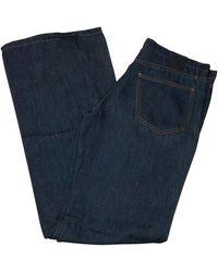 Givenchy Jeans droit coton bleu