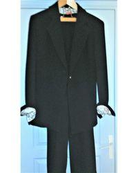Christian Lacroix Tailleur pantalon laine noir
