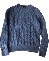 Lanvin Pull laine bleu