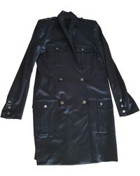 The Kooples Robe courte viscose noir