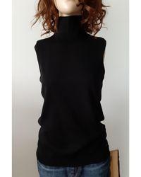Dior Col roulé laine noir