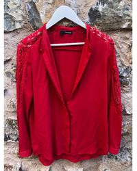 The Kooples Chemise coton rouge