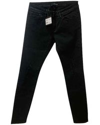The Kooples Jeans slim coton noir