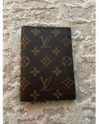 Louis Vuitton Portefeuille toile marron