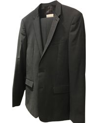 Sandro Costume complet coton gris
