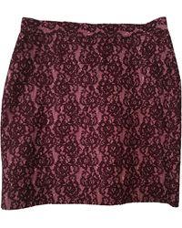 Christian Lacroix Tailleur jupe coton rose