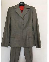 Versace Tailleur pantalon laine autre - Multicolore