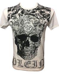 Philipp Plein Tee-shirt coton blanc