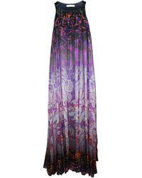 Matthew Williamson Robe courte soie multicolore - Violet