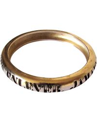 Chanel - Bracelet métal doré - Lyst