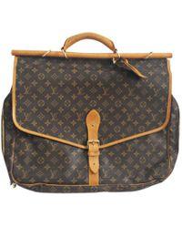 Louis Vuitton Cabas toile marron