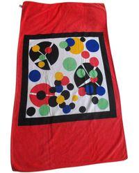 Dior Paréo serviette de plage autre Taille unique - Rouge