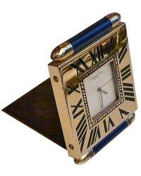 Cartier - Montre à gousset métal doré - Lyst