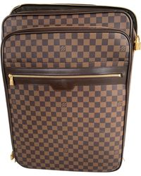 Louis Vuitton Sac XL en cuir cuir beige - Neutre