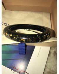 Louis Vuitton Bracelet résine noir