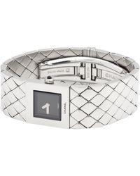 Chanel Montre au poignet acier argent - Métallisé