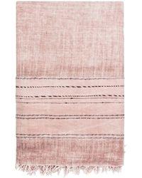 Zadig & Voltaire Foulard laine rose