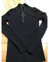 Maje Pull polyester noir