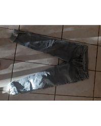 Sandro Jeans slim coton gris