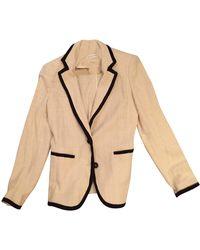 Étoile Isabel Marant Veste coton beige - Neutre